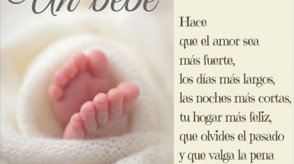 Un bebé...