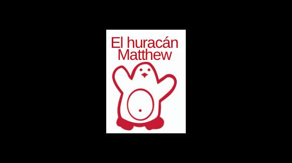 El huracán Matthew