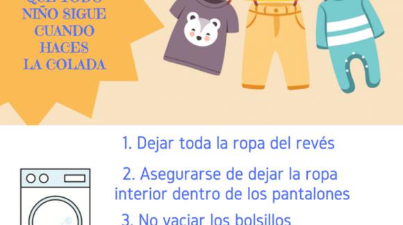 Las 4 reglas infalibles que todo el mundo sigue cuando haces la colada